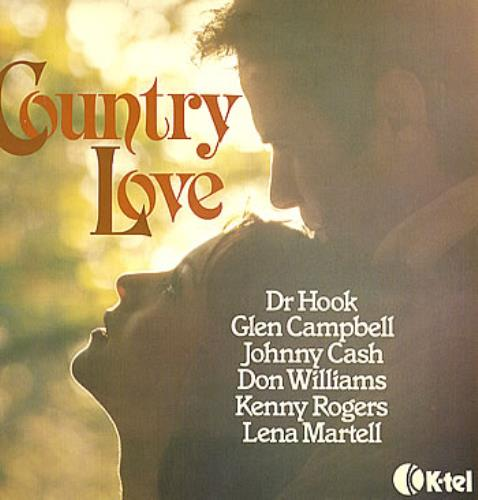 Various-Country Country Love vinyl LP album (LP record) UK CVALPCO289888