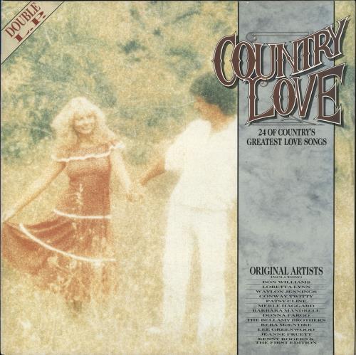 Various-Country Country Love 2-LP vinyl record set (Double Album) UK CVA2LCO723975