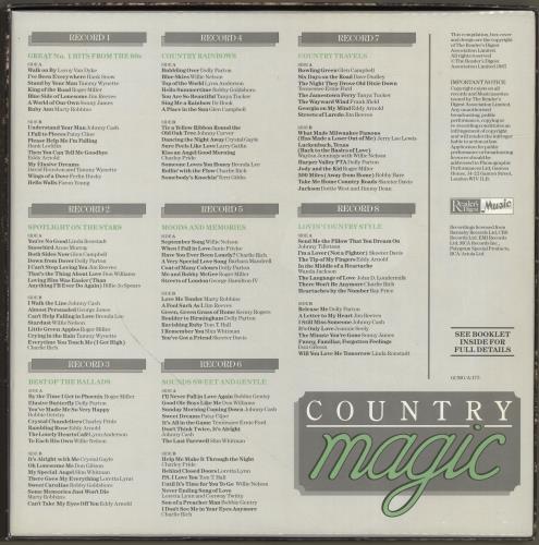 Various-Country Country Magic Vinyl Box Set UK CVAVXCO700442