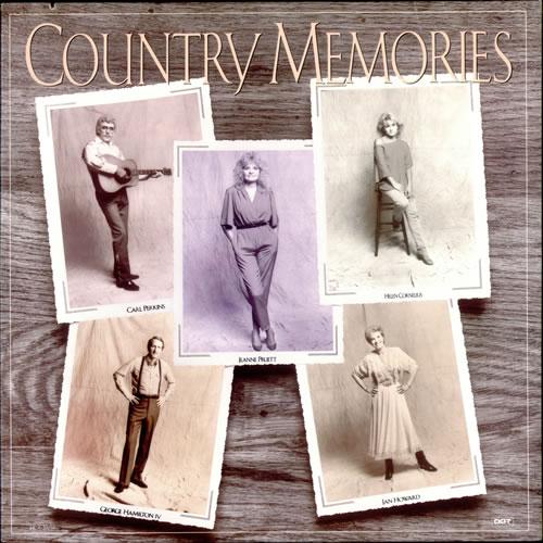 Various-Country Country Memories vinyl LP album (LP record) US CVALPCO524638