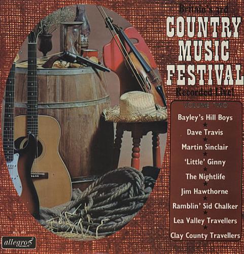 Various-Country Country Music Festival Volume 1 & 2 2-LP vinyl record set (Double Album) UK CVA2LCO329869