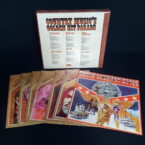 Various-Country Country Music's Golden Hit Parade Vinyl Box Set UK CVAVXCO758934