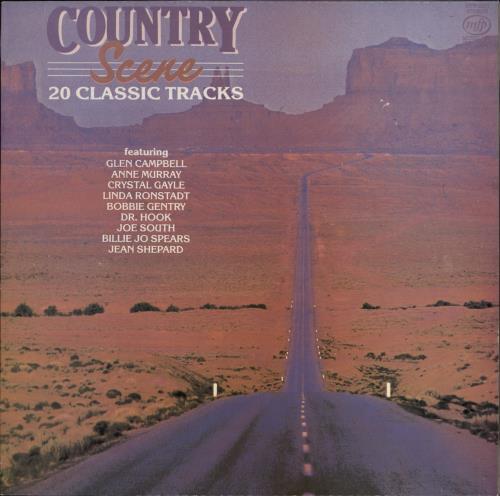 Various-Country Country Scene vinyl LP album (LP record) UK CVALPCO766794