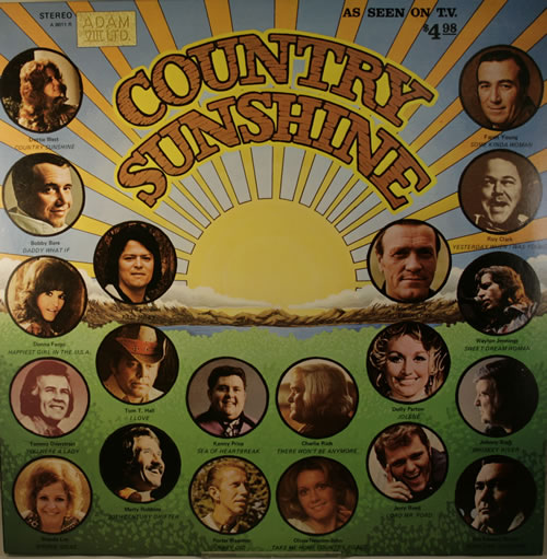 Various-Country Country Sunshine vinyl LP album (LP record) US CVALPCO413408