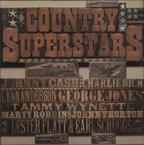 Various-Country Country Superstars Vinyl Box Set UK CVAVXCO659892