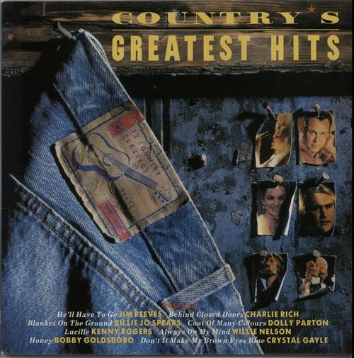 Various-Country Country's Greatest Hits vinyl LP album (LP record) UK CVALPCO640902