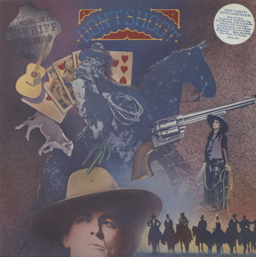 Various-Country Don't Shoot vinyl LP album (LP record) UK CVALPDO602867