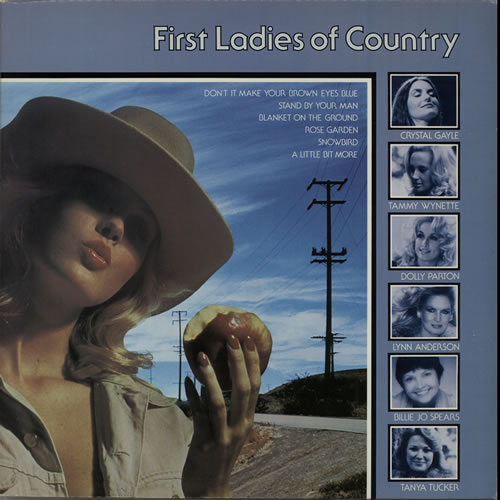 Various-Country First Ladies Of Country vinyl LP album (LP record) UK CVALPFI627833
