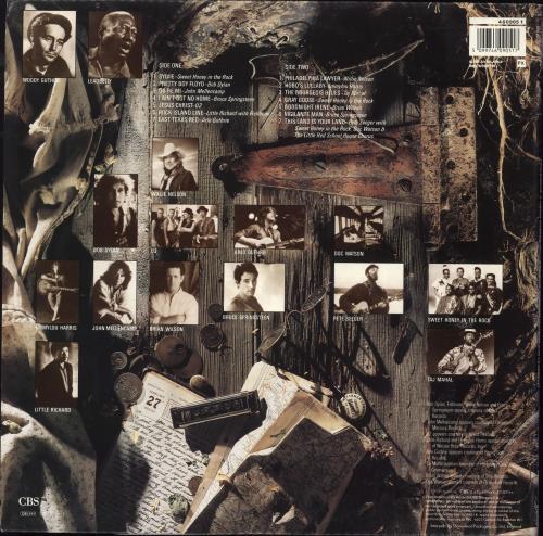 Various-Country Folkways: A Vision Shared vinyl LP album (LP record) UK CVALPFO708818