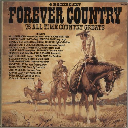 Various-Country Forever Country Vinyl Box Set UK CVAVXFO700441
