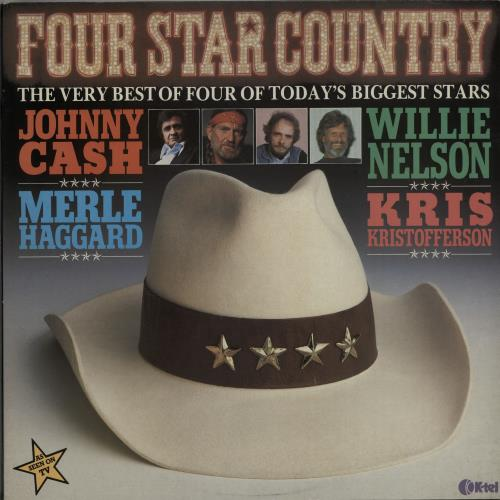 Various-Country Four Star Country 2-LP vinyl record set (Double Album) UK CVA2LFO645992