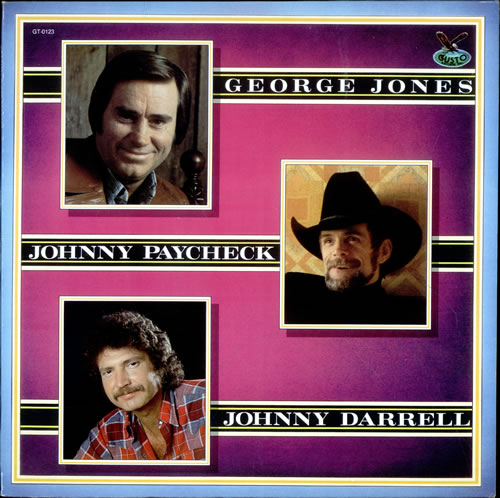 Various-Country George Jones, Johnny Paycheck, Johnny Darrell vinyl LP album (LP record) US CVALPGE524648
