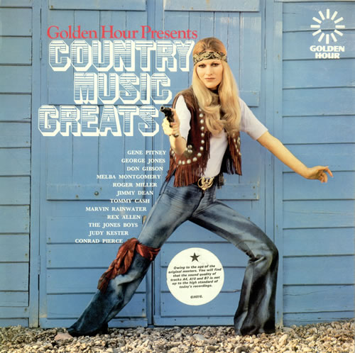 Various-Country Golden Hour Presents Country Music Greats vinyl LP album (LP record) UK CVALPGO496702
