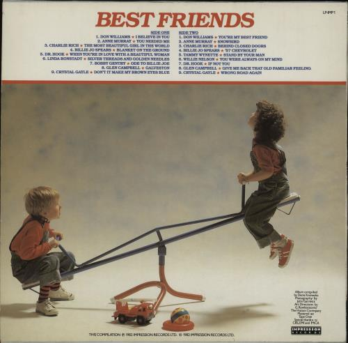 Various-Country Good Friends vinyl LP album (LP record) UK CVALPGO759527