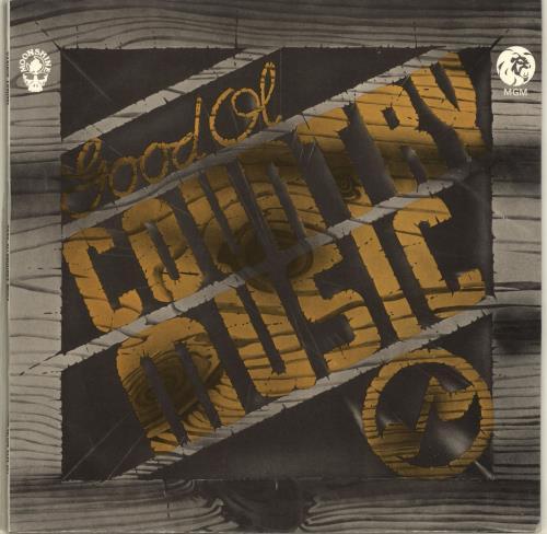 Various-Country Good Ol Country Music vinyl LP album (LP record) UK CVALPGO699556