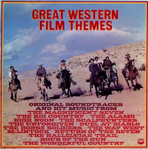 Various Country Great Western Film Themes Uk Vinyl Lp