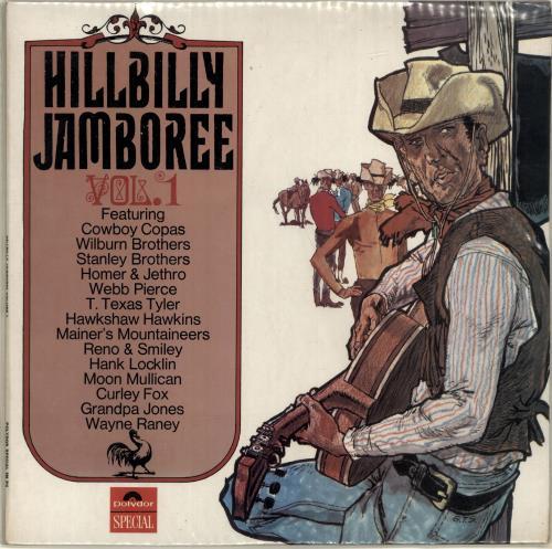 Various-Country Hillbilly Jamboree vinyl LP album (LP record) UK CVALPHI699571