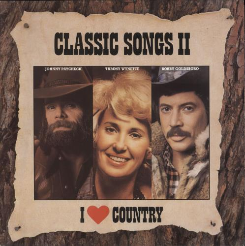 Various-Country I Love Country - Classic Songs II vinyl LP album (LP record) Dutch CVALPIL742996