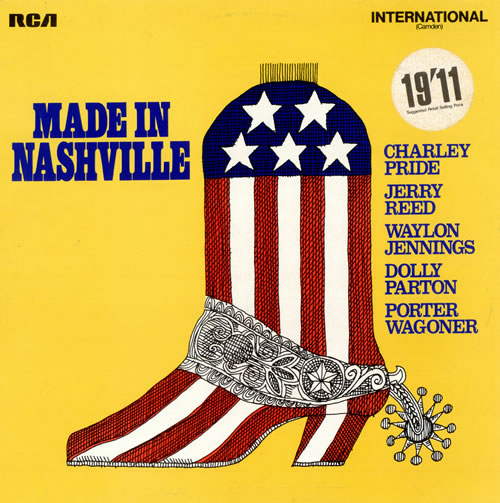 Various-Country Made In Nashville vinyl LP album (LP record) UK CVALPMA474714