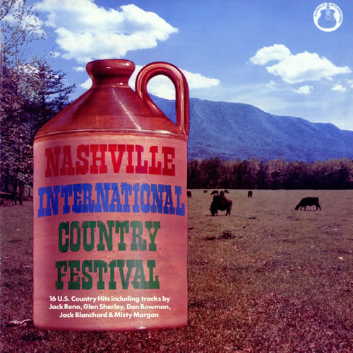 Various-Country Nashville International Country Festival vinyl LP album (LP record) UK CVALPNA474712