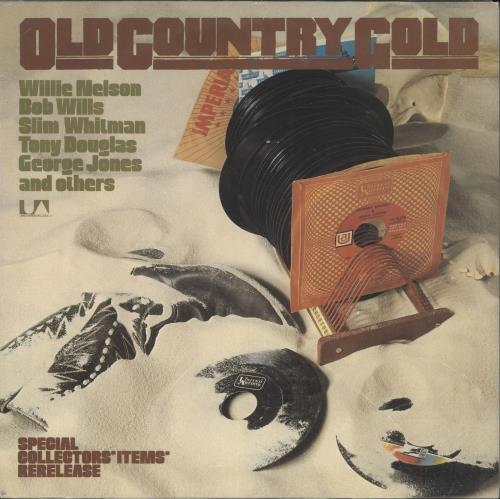 Various-Country Old Country Gold vinyl LP album (LP record) German CVALPOL721711