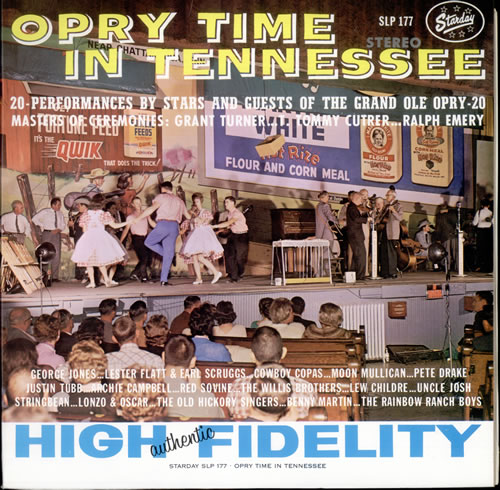 Various-Country Opry Time In Tennessee vinyl LP album (LP record) US CVALPOP524922