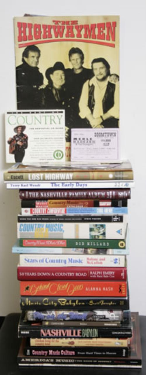 Various-Country Quantity of 24 Country Music Books book UK CVABKQU556001