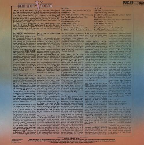 Various-Country Red-Hot Victor vinyl LP album (LP record) UK CVALPRE762584