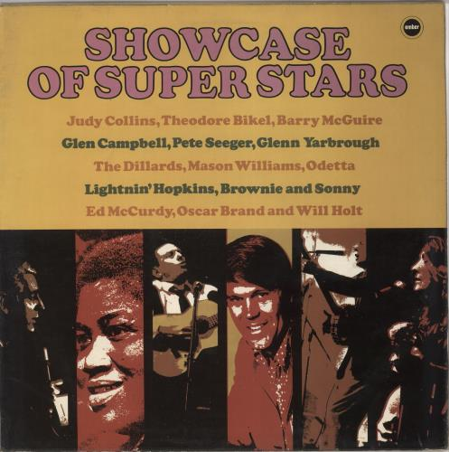 Various-Country Showcase Of Super Stars vinyl LP album (LP record) UK CVALPSH723060