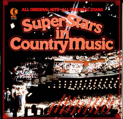 Various-Country Super Stars In Country Music vinyl LP album (LP record) US CVALPSU524397