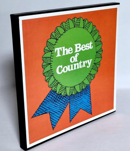 Various-Country The Best Of Country Vinyl Box Set US CVAVXTH765825