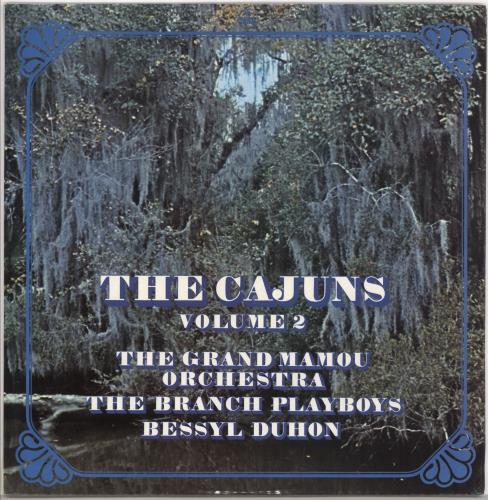 Various-Country The Cajuns Volume 2 vinyl LP album (LP record) UK CVALPTH720055