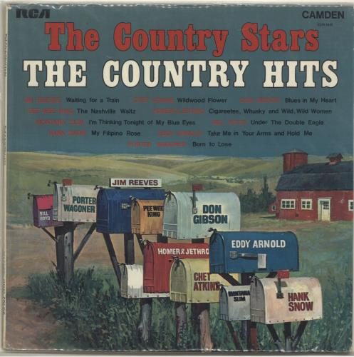 Various-Country The Country Stars, The Country Hits vinyl LP album (LP record) UK CVALPTH699464