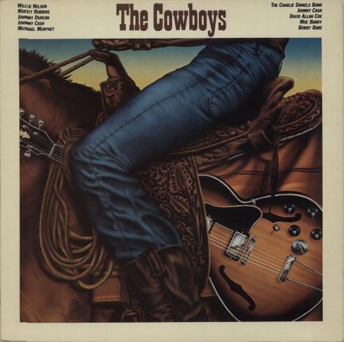 Various-Country The Cowboys vinyl LP album (LP record) UK CVALPTH674136
