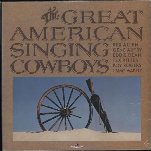 Various-Country The Great American Singing Cowboys vinyl LP album (LP record) US CVALPTH699838