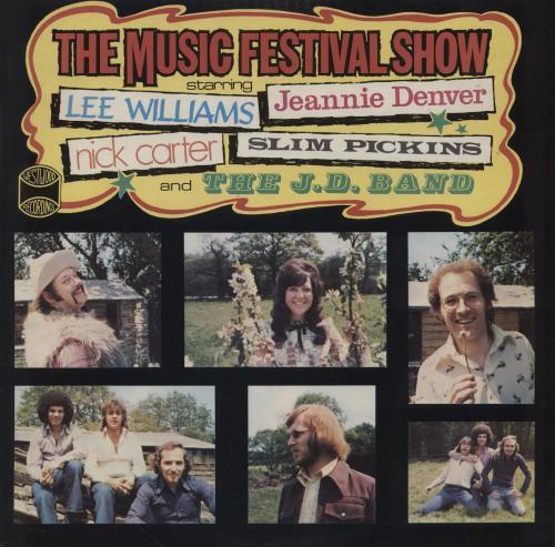 Various-Country The Music Festival Show vinyl LP album (LP record) UK CVALPTH761273