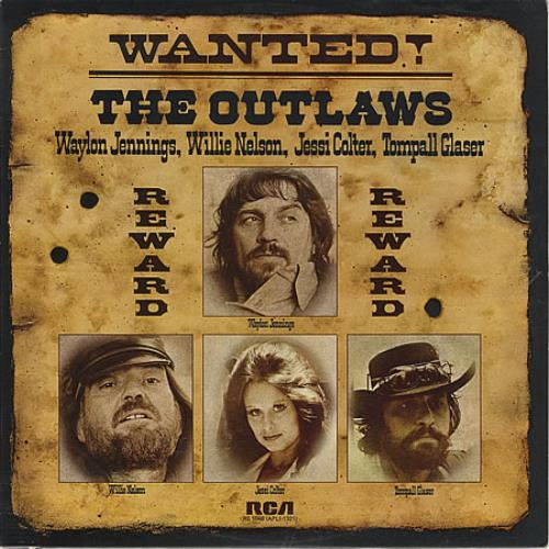 Various Country Wanted The Outlaws Uk Vinyl Lp Album Lp