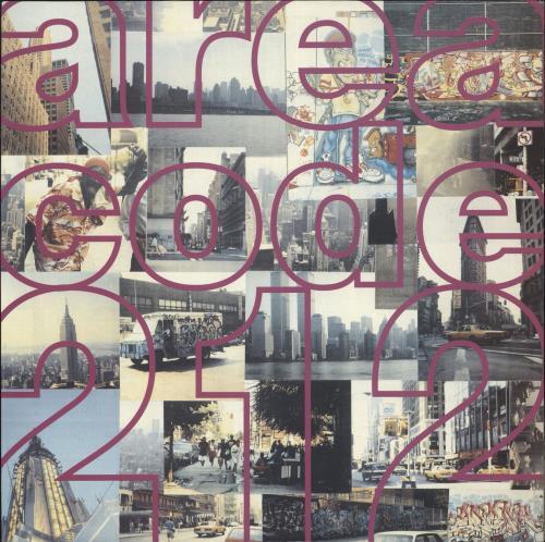 Various-Dance Area Code 212 vinyl LP album (LP record) UK D.VLPAR725495
