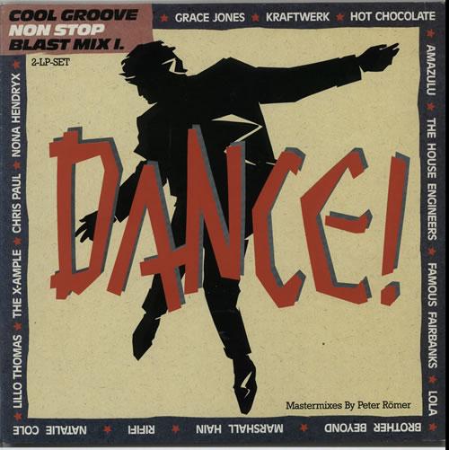Various-Dance Cool Groove Non Stop Blast Mix I. 2-LP vinyl record set (Double Album) German D.V2LCO628083