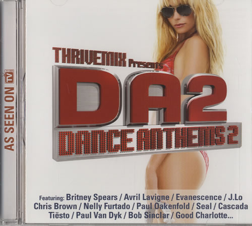 Various-Dance Dance Anthems 2 CD album (CDLP) US D.VCDDA448772