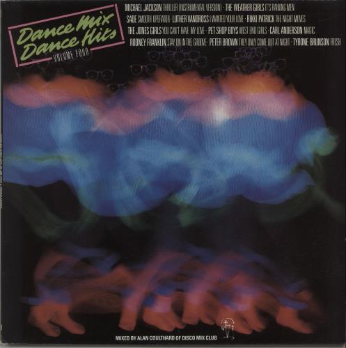 Various-Dance Dance Mix - Dance Hits Volume 4 vinyl LP album (LP record) UK D.VLPDA665043
