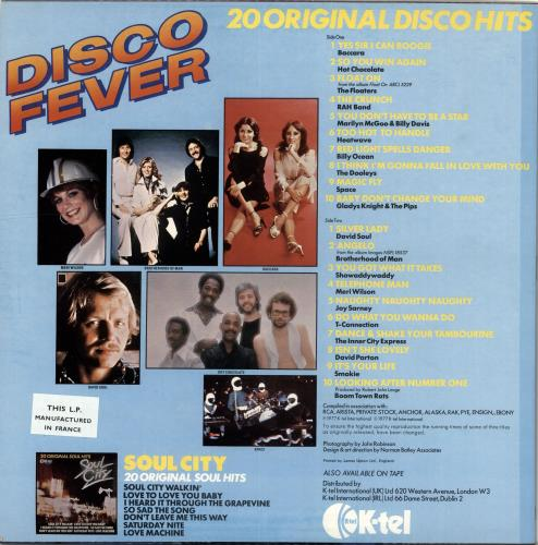 Various-Dance Disco Fever vinyl LP album (LP record) French D.VLPDI704855