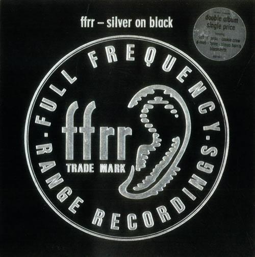 Various-Dance Ffrr - Silver On Black 2-LP vinyl record set (Double Album) UK D.V2LFF392617