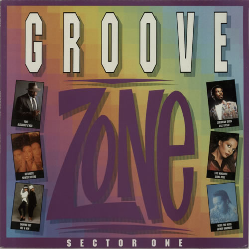 Various-Dance Groove Zone Sector One vinyl LP album (LP record) UK D.VLPGR623565