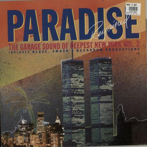 Various-Dance Paradise Regained: The Garage Sound Of Deepest New York 2 vinyl LP album (LP record) UK D.VLPPA623050