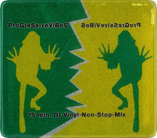 Various-Dance Progressive Vibes CD album (CDLP) German D.VCDPR523116