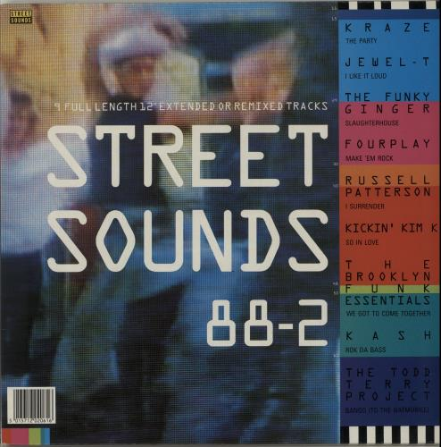 Various-Dance Street Sounds 88-2 vinyl LP album (LP record) UK D.VLPST654313
