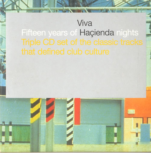 Various-Dance Viva Hacienda - Fifteen Years Of Hacienda Nights 3-CD album set (Triple CD) UK D.V3CVI598908