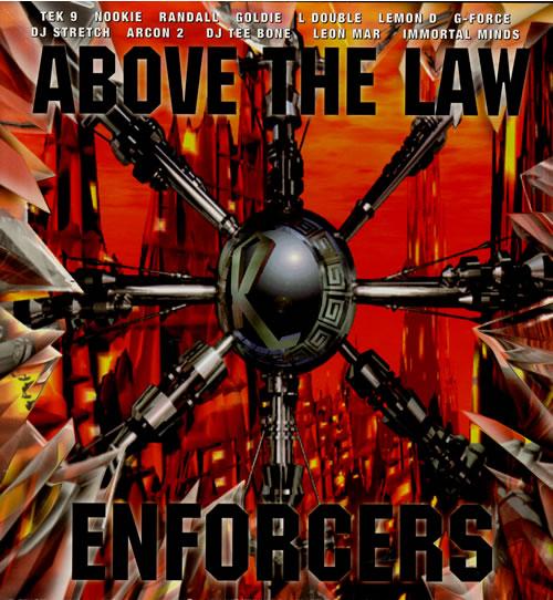 Various-Drum & Bass Jungle Above The Law - Enforcers Vinyl Box Set UK V-CVXAB562125