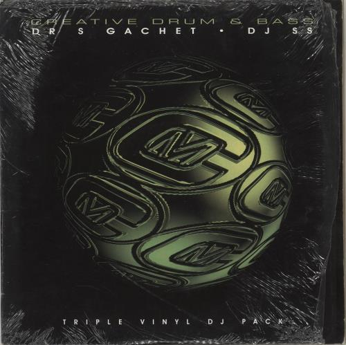 Various-Drum & Bass Jungle Creative Drum & Bass 3-LP vinyl record set (Triple Album) UK V-C3LCR711230